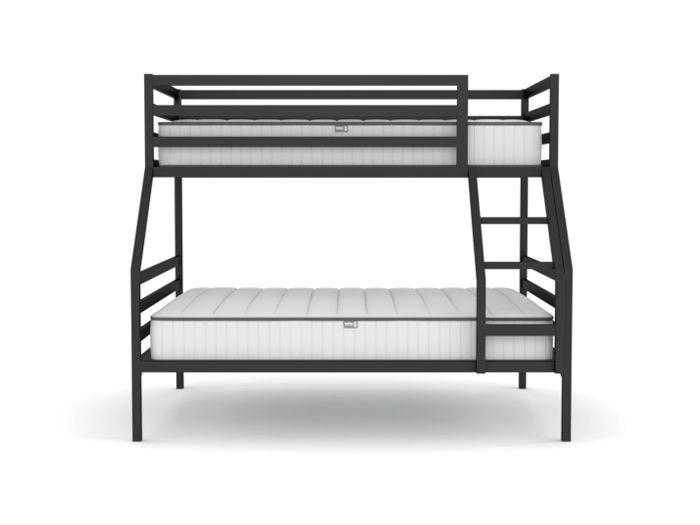 Academy Graphite Trio Bunk Bed