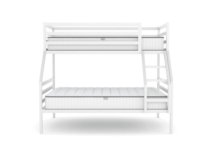 Academy White Triple Bunk Beds For Kids