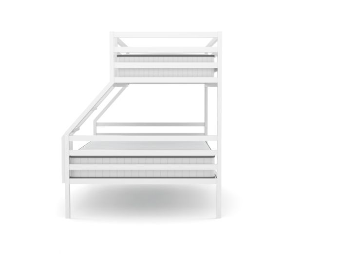 Academy White Three Bed Bunk Bed