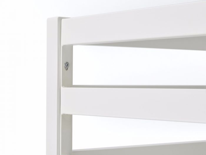 Academy White Metal Bunk Bed Detail 3 | Now On Sale | Bedtime.