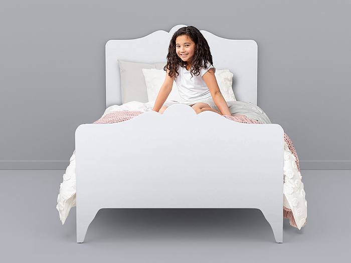 Arendelle White Single Bed |  Lifestyle |  Bedtime.