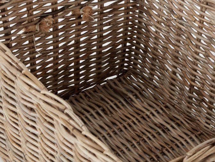 Hampton Large Storage Basket | Now On Sale | Interior View | Bedtime.
