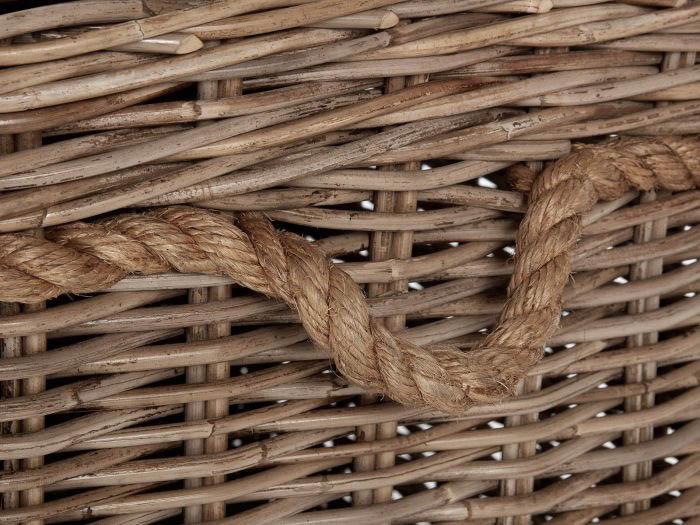 New England Medium Hamper   Now On Sale   Rope Handle View   Bedtime.