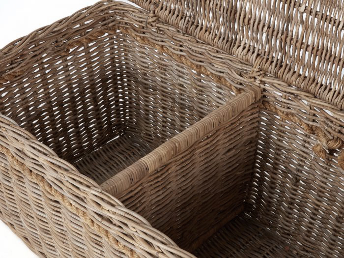 New England Large Hamper | Now On Sale | Inside View | Bedtime.