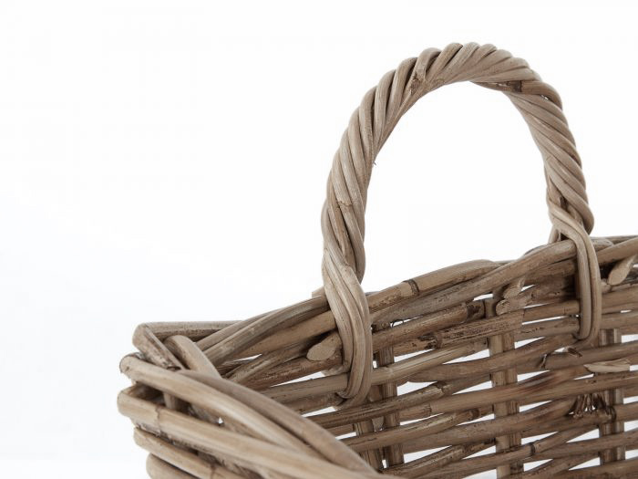 Tapered Basket with Handles | Now On Sale | Handle View |Bedtime.