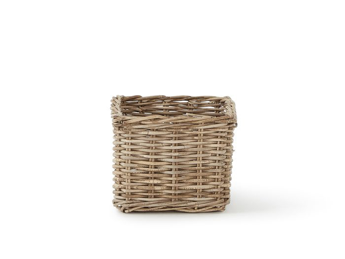 Bookcase Basket | Now On Sale | End View | Bedtime.
