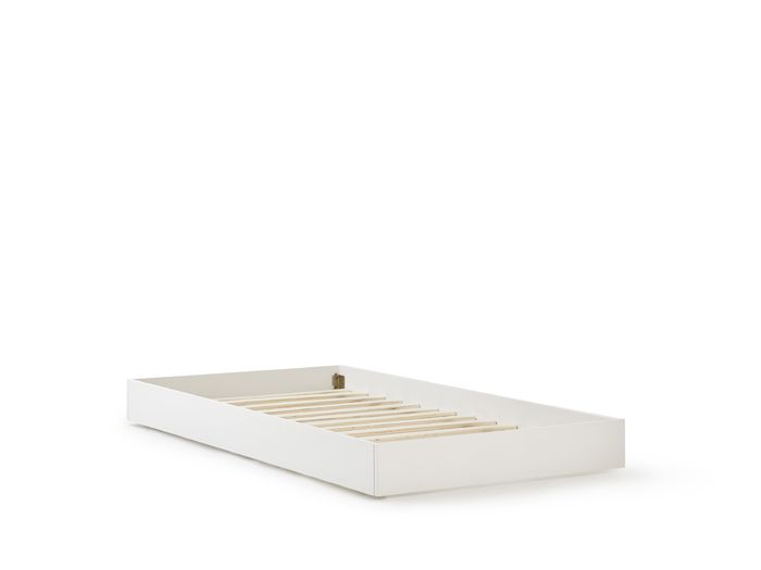 Classic White Trundle Bed | Bedtime.