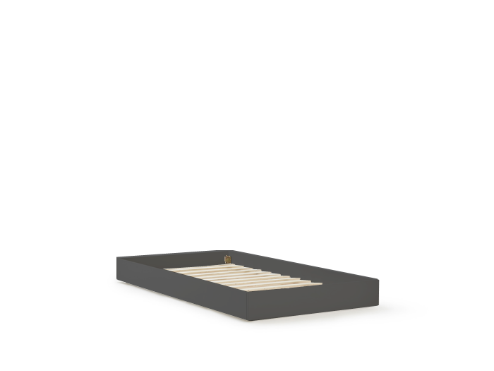 Classic Graphite Trundle Bed | Bedtime.