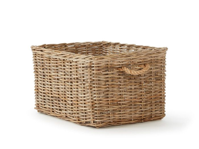 Hampton Large Storage Basket | Now On Sale | Bedtime.