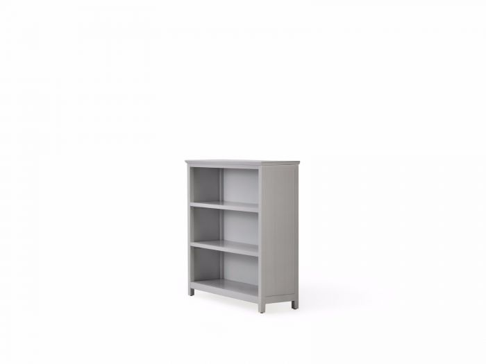 Hampton Three Shelf Grey Bookcase | Now On Sale | Bedtime.