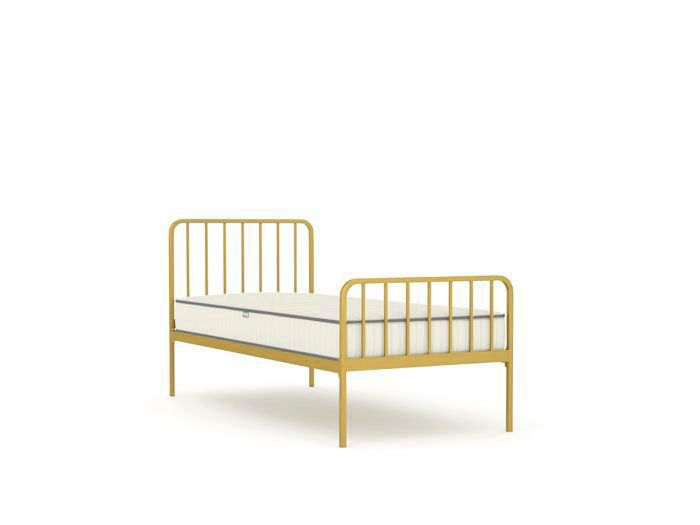Harpo Soft Gold Single Bed | Now On Sale | Bedtime.