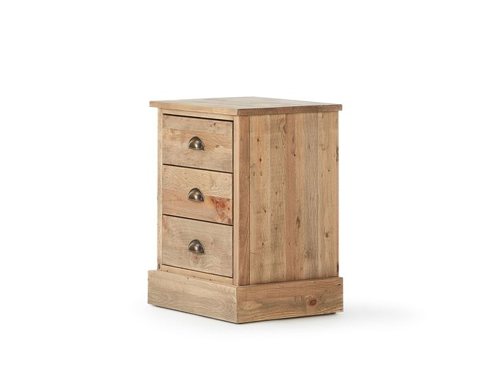 Huckleberry 3 Drawer Bedside Table | Now On Sale | Bedtime.
