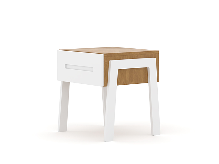 Kaspar One Drawer Bedside Table