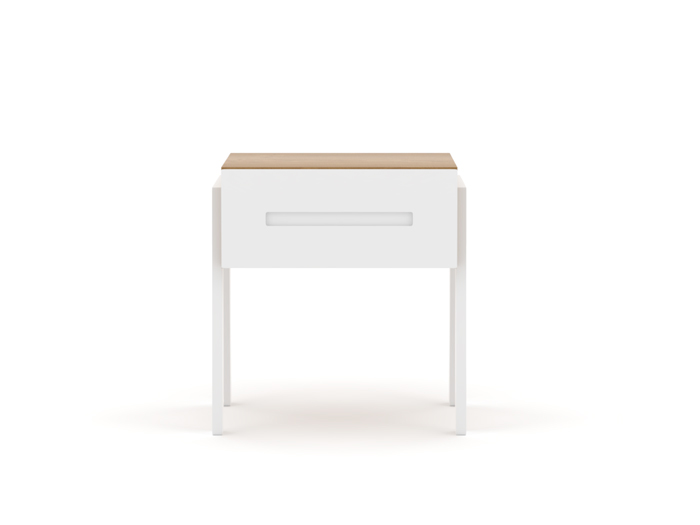 Kaspar One Drawer Nightstand