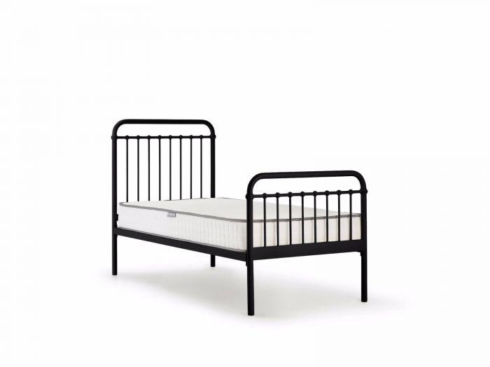 Loft Black Metal King Single Bed | Now On Sale | Bedtime.