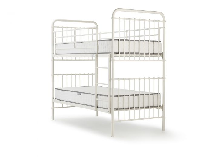 Loft White Metal Bunk Bed | Now On Sale | Bedtime.