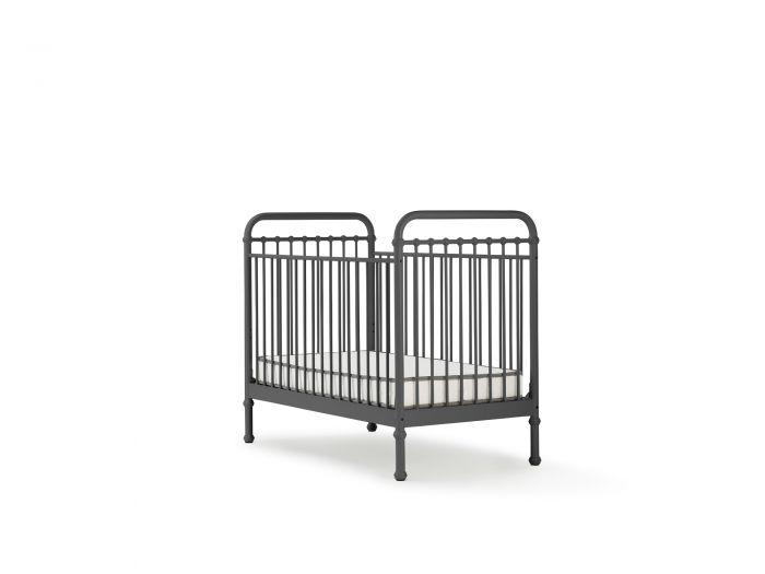 Loft Graphite Metal Cot | Bedtime.