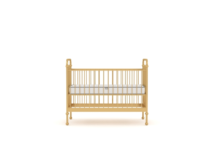 Loft Soft Gold Cot - Mattress