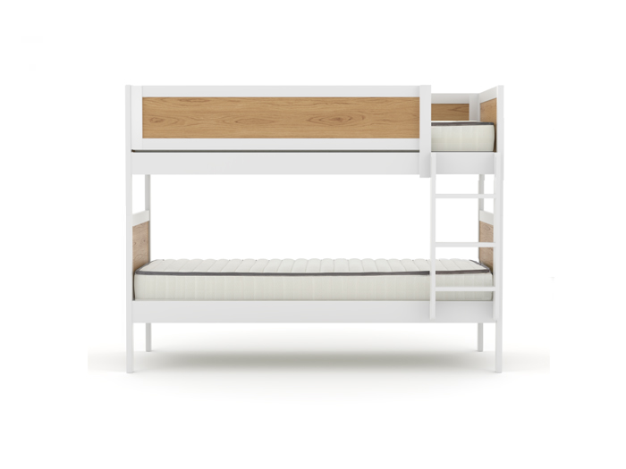 Lund Single Bunk Bed - Front View