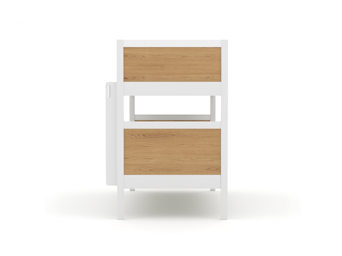 Lund Single Bunk Bed - End View