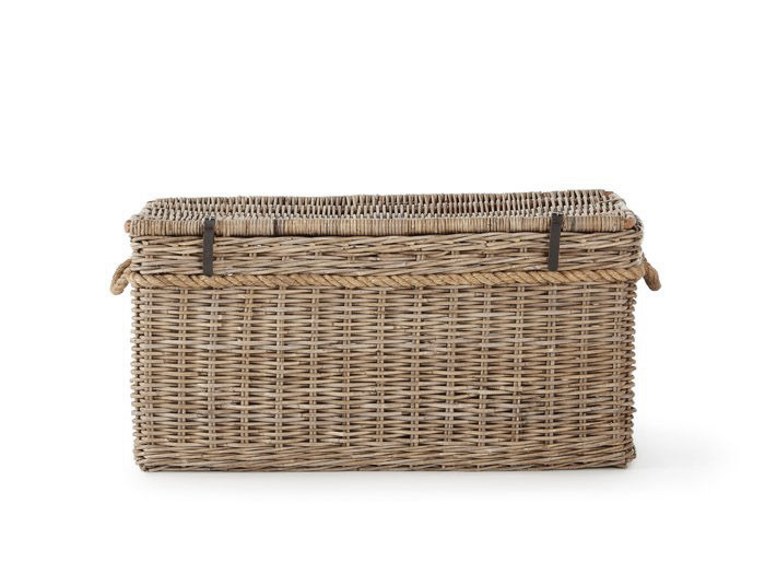 New England Large Hamper | Now On Sale | Side View | Bedtime.