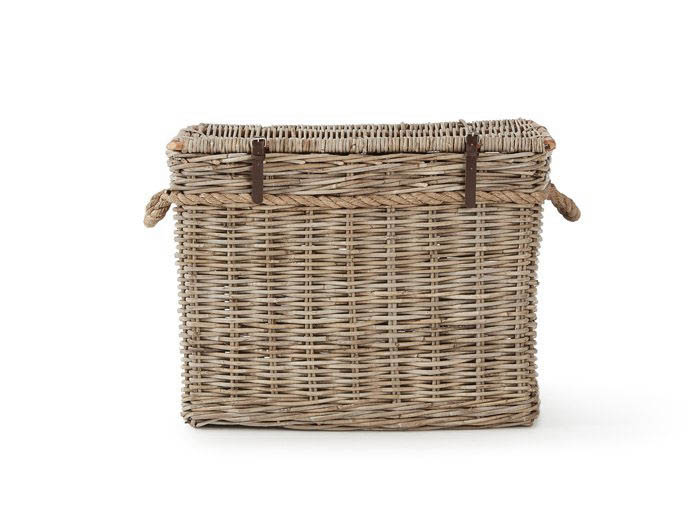 New England Medium Hamper   Now On Sale   Side View   Bedtime.
