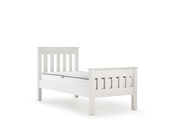 New England White Single Bed | Now On Sale | Bedtime.