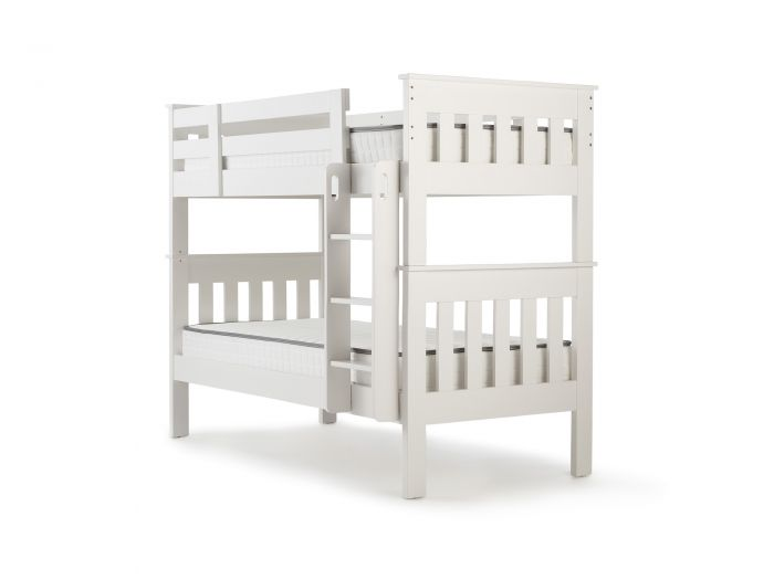 New England White Single Bunk Bed | Now On Sale | Bedtime.