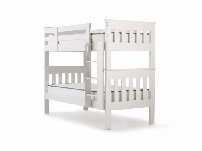 New England White King Single Bunk Bed | Now On Sale | Bedtime.
