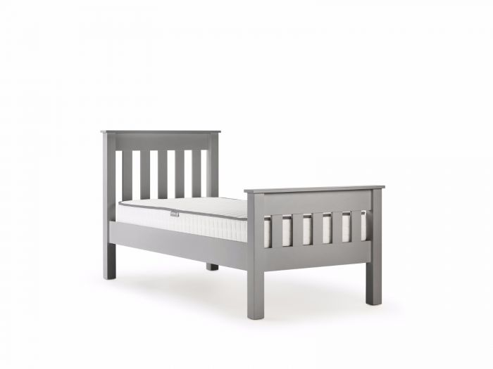 New England Grey Single Bed | Now On Sale | Bedtime.