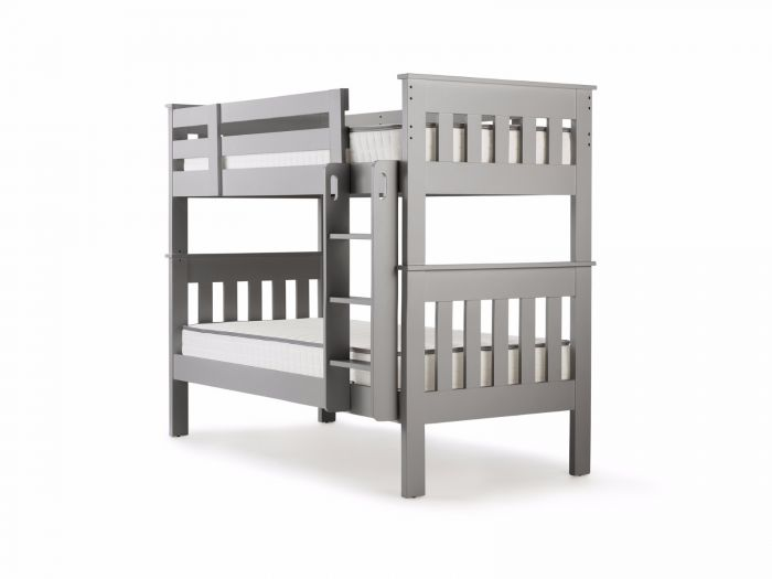 New England Grey King Single Bunk Bed | Now On Sale | Bedtime.