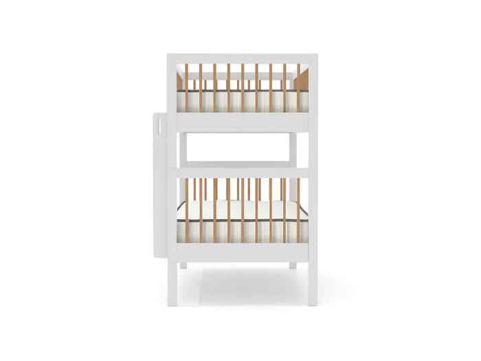 Nord Two-Tone Bunk Bed - End View