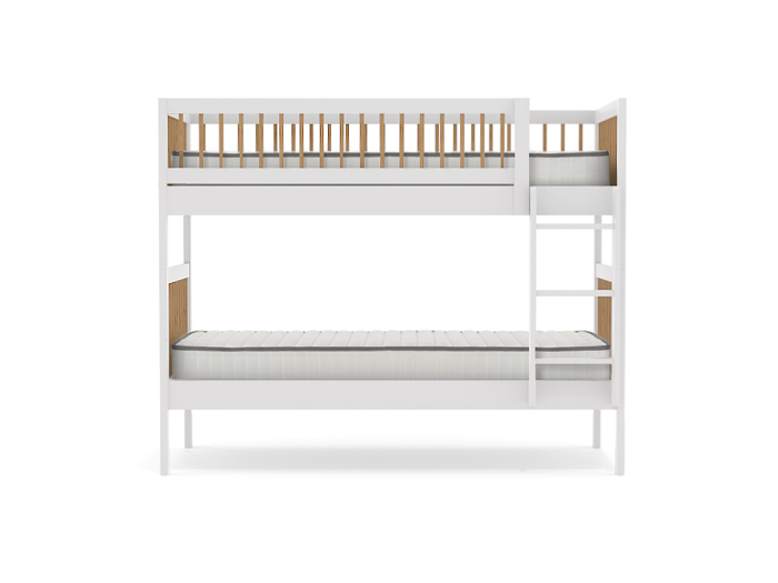 Nord Two-Tone Bunk Bed - Front View