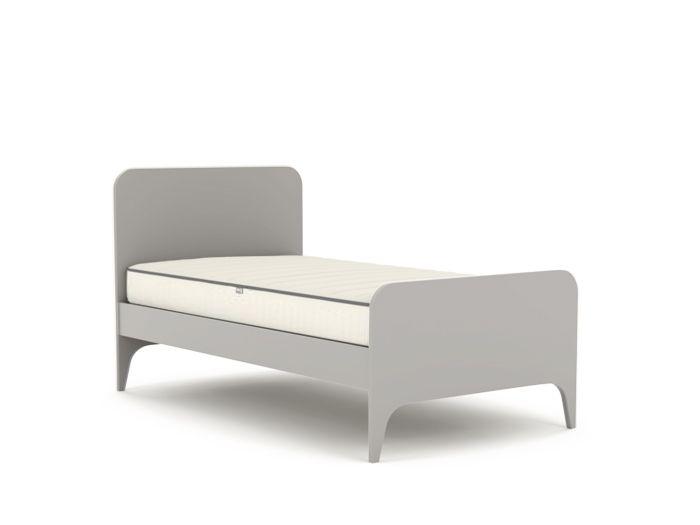 Oskar Grey Single Bed | Bedtime.