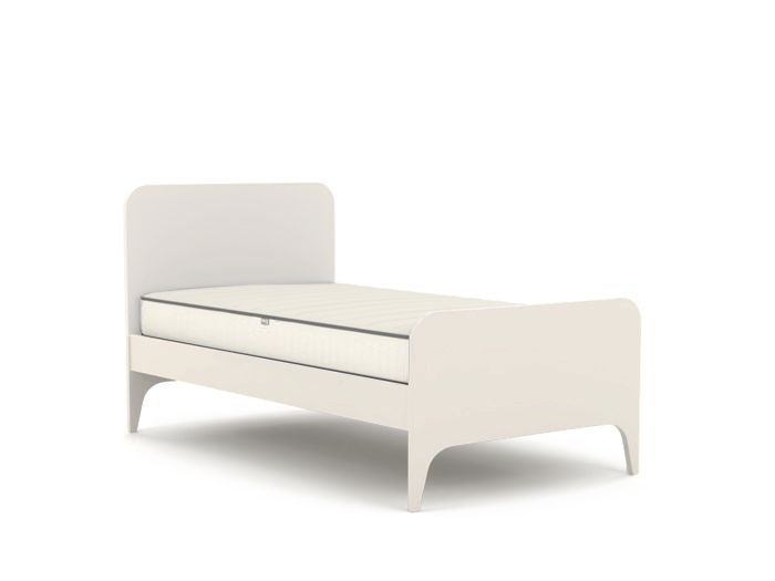 Oskar White King Single Bed | Now On Sale | Bedtime.