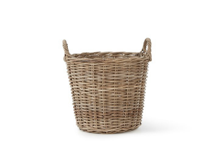 Round Basket with Handles   Now On Sale   Side View   Bedtime.