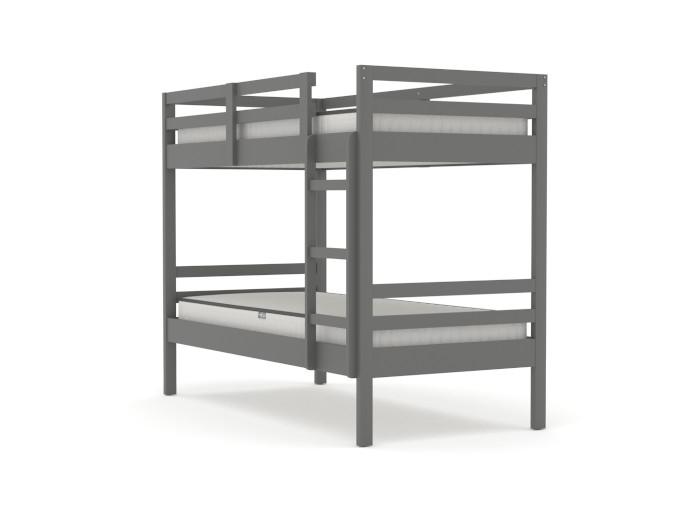 Studio Graphite Single Bunk Bed | Bedtime.