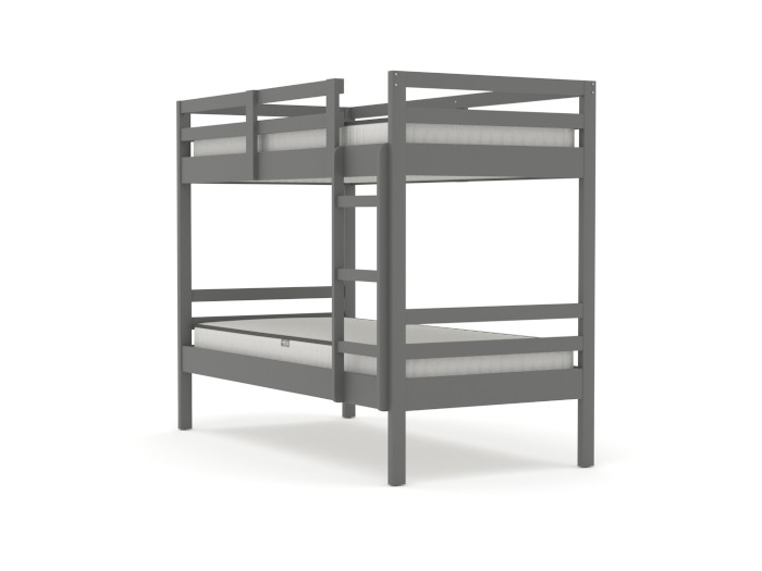 Studio Graphite King Single Bunk Bed | Bedtime.