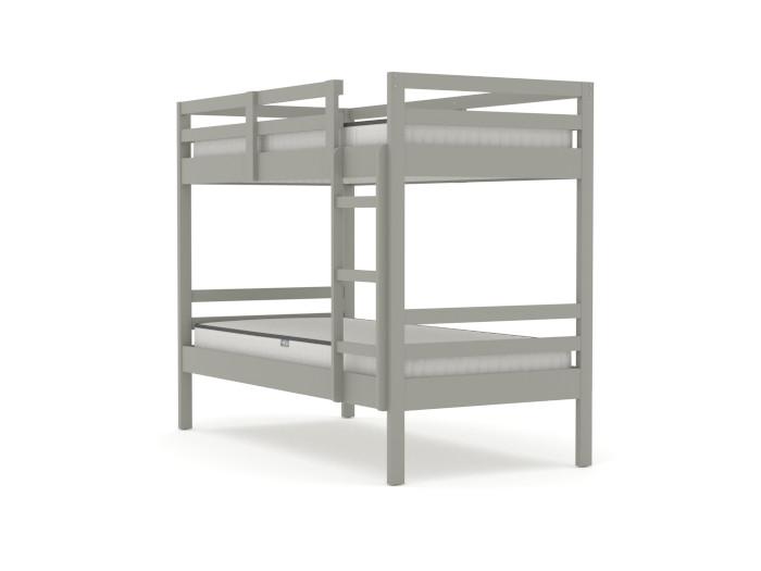 Studio Grey Single Bunk Bed | Bedtime.