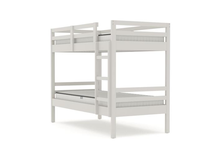 Studio White Single Bunk Bed | Bedtime.
