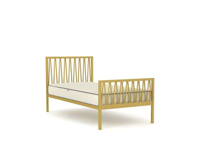 Skandia Soft Gold King Single Bed | Now On Sale | Bedtime.