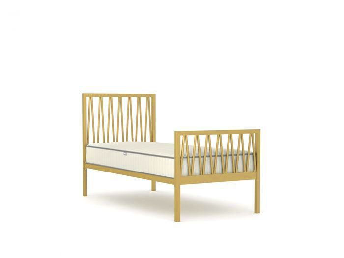 Skandia Soft Gold Single Bed | Now On Sale | Bedtime.