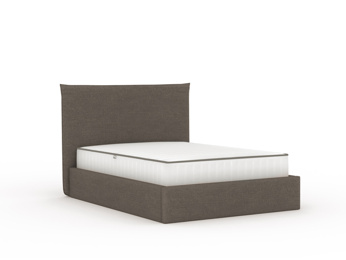 Slouch Flannel Upholstered Queen Bed | Now On Sale | Bedtime.