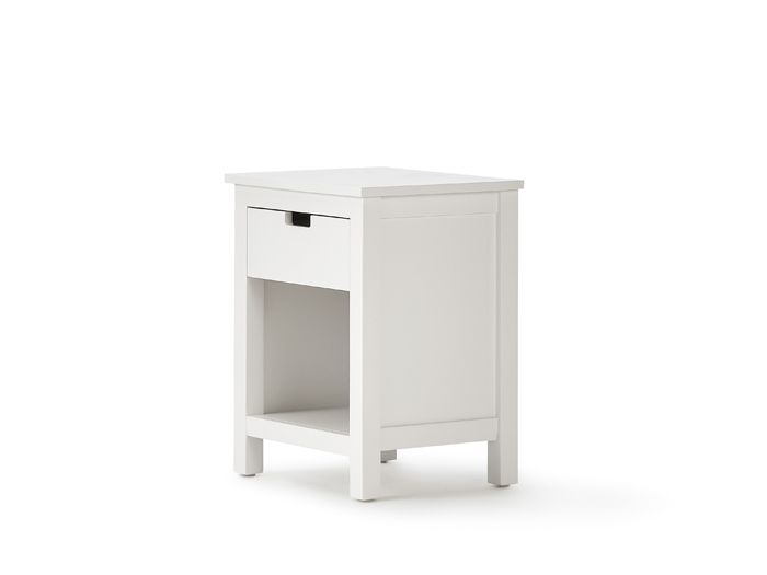 Soho White Bedside Table | Now On Sale | Bedtime.