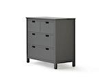 Soho Graphite 4 Drawer Dresser