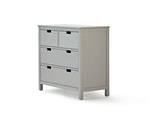 Soho Grey 4 Drawer Dresser