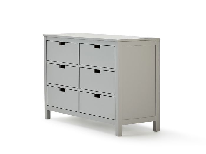 Soho Grey 6 Drawer Dresser | Now On Sale | Bedtime.