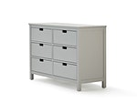 Soho Grey 6 Drawer Dresser