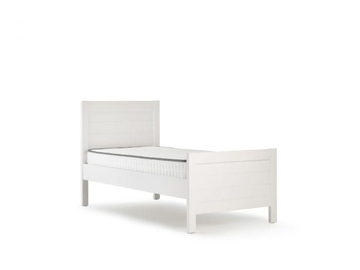 Soho White Single Bed | Bedtime.