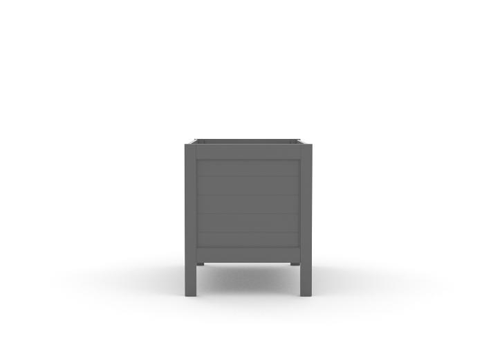 Soho Dark Grey Cot - End View